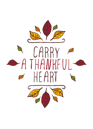 Carry a Thankful Heart