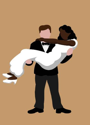 Bride & Groom (Interracial #2)