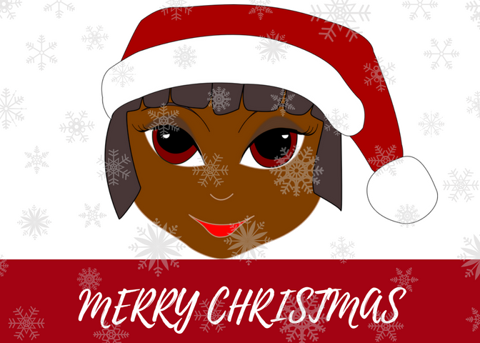 Black Female Santa