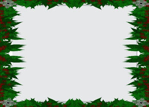 Evergreen Border