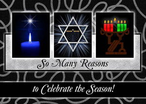 Christmas Hanukkah and Kwanzaa