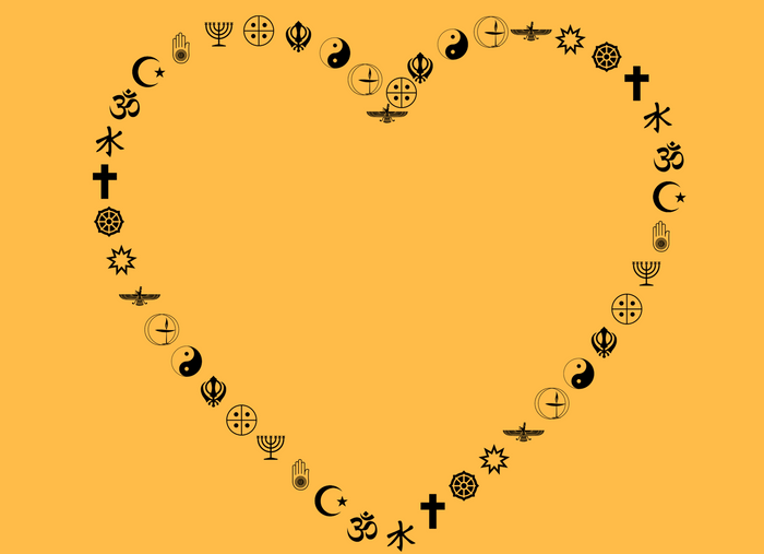 A Heart For Everyone - Coexist