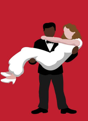 Bride & Groom (Interracial)