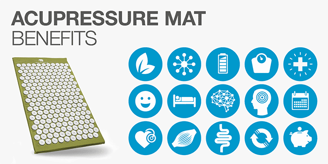 Acupressure Mat Benefits: 23 Reasons to Roll out Your Mat Today!