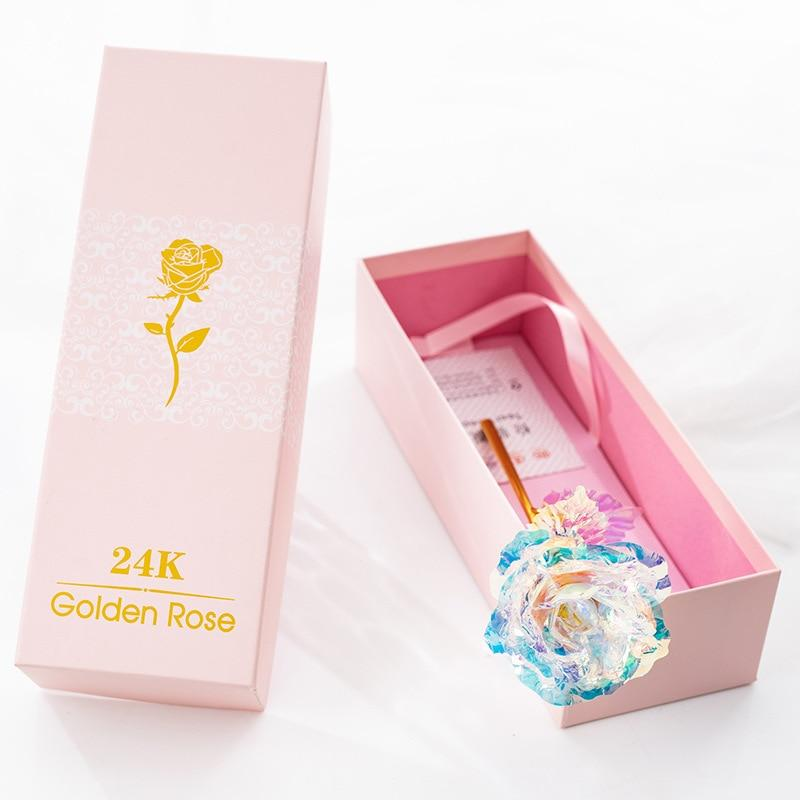 My Valentine 24K Foil Gold Rose
