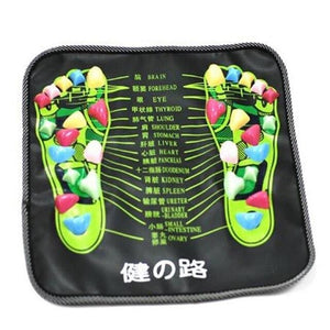 Reflexology Stone Foot Massage Pad