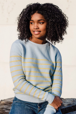Sybil Stripe Sweater