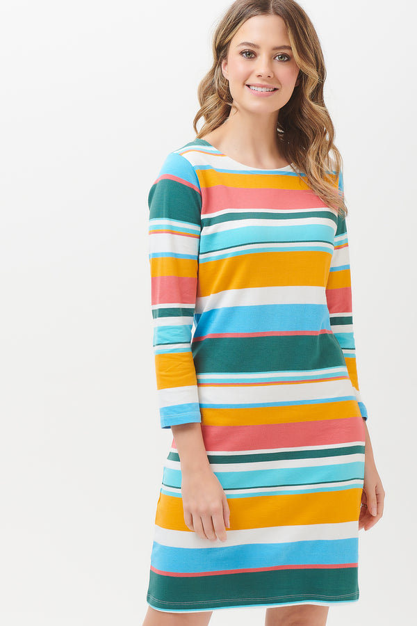 Brighton Riviera Stripe Dress