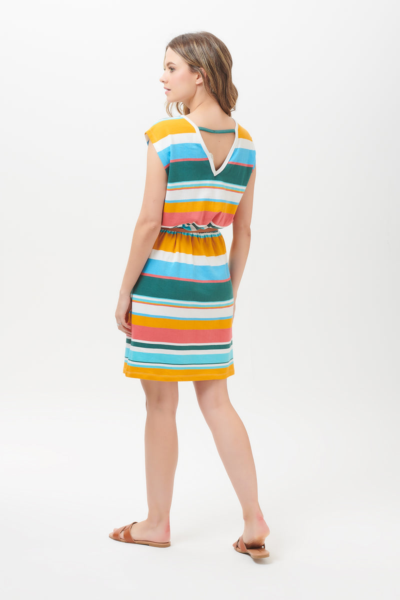 Hetty Riviera Stripe Dress