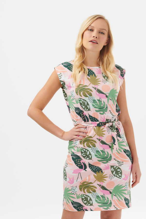 Hetty Miami Flamingo Dress