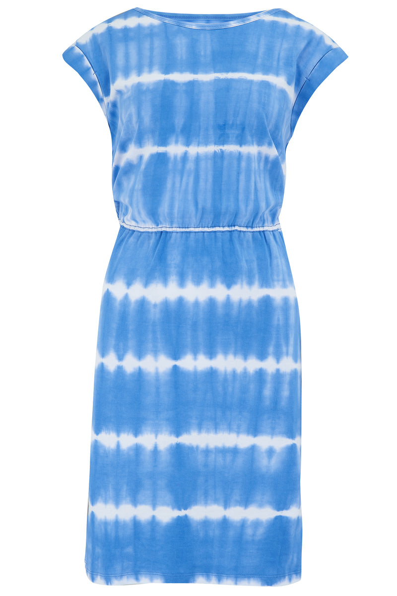 Kate Tie Dye Marine Stripe Dress