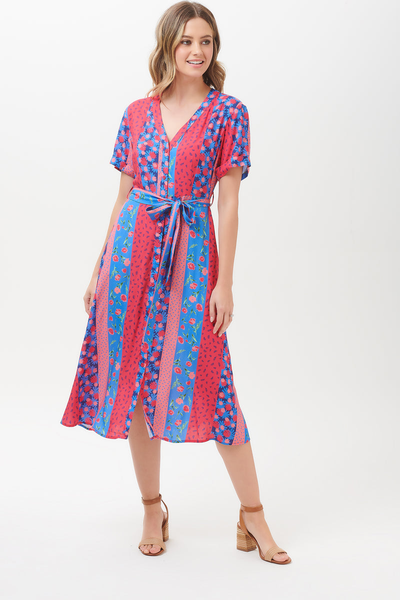 Cassidy Bloomin Lovely Floral Midi Dress