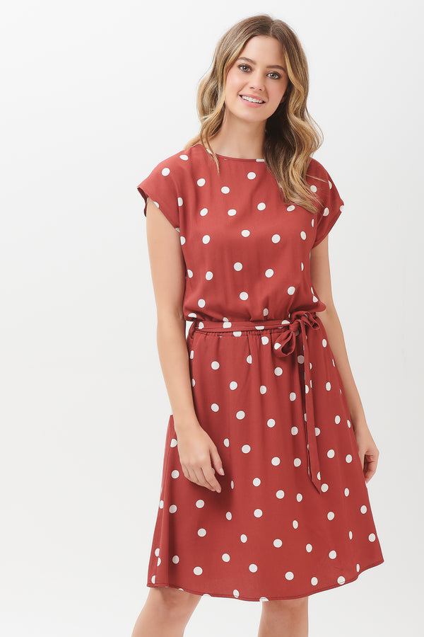 Connie Polka Dress