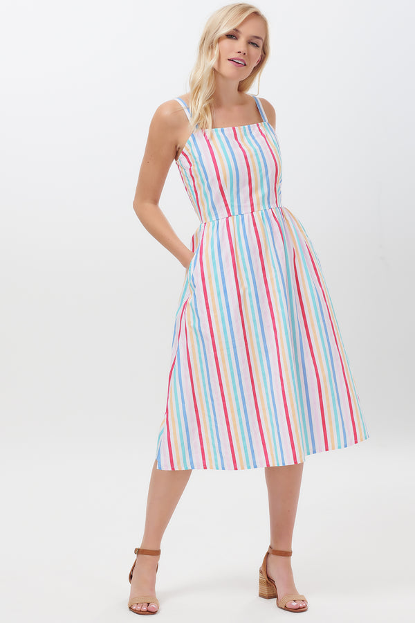 Petunia Candy Stripe Sundress
