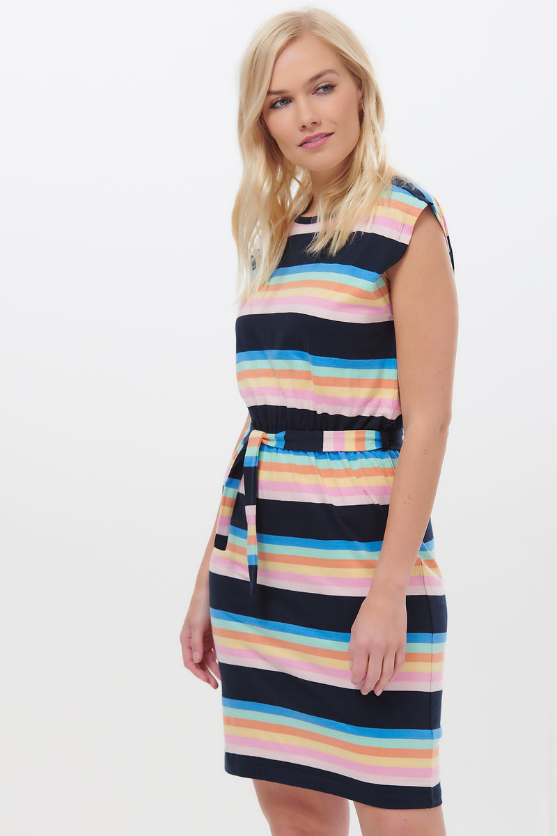 Hetty Surf Paradise Stripe Dress #wearandcare