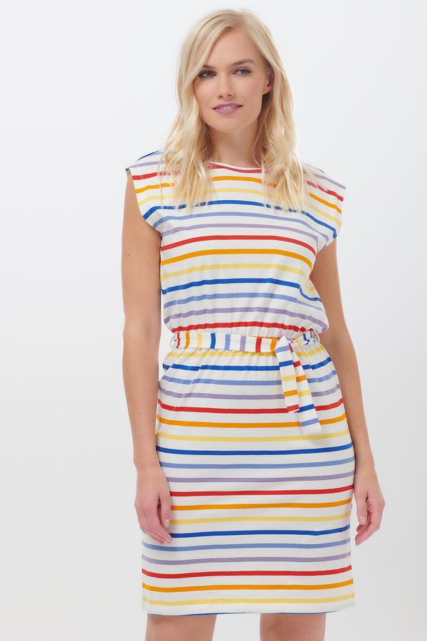 Hetty Sunset Stripe Dress