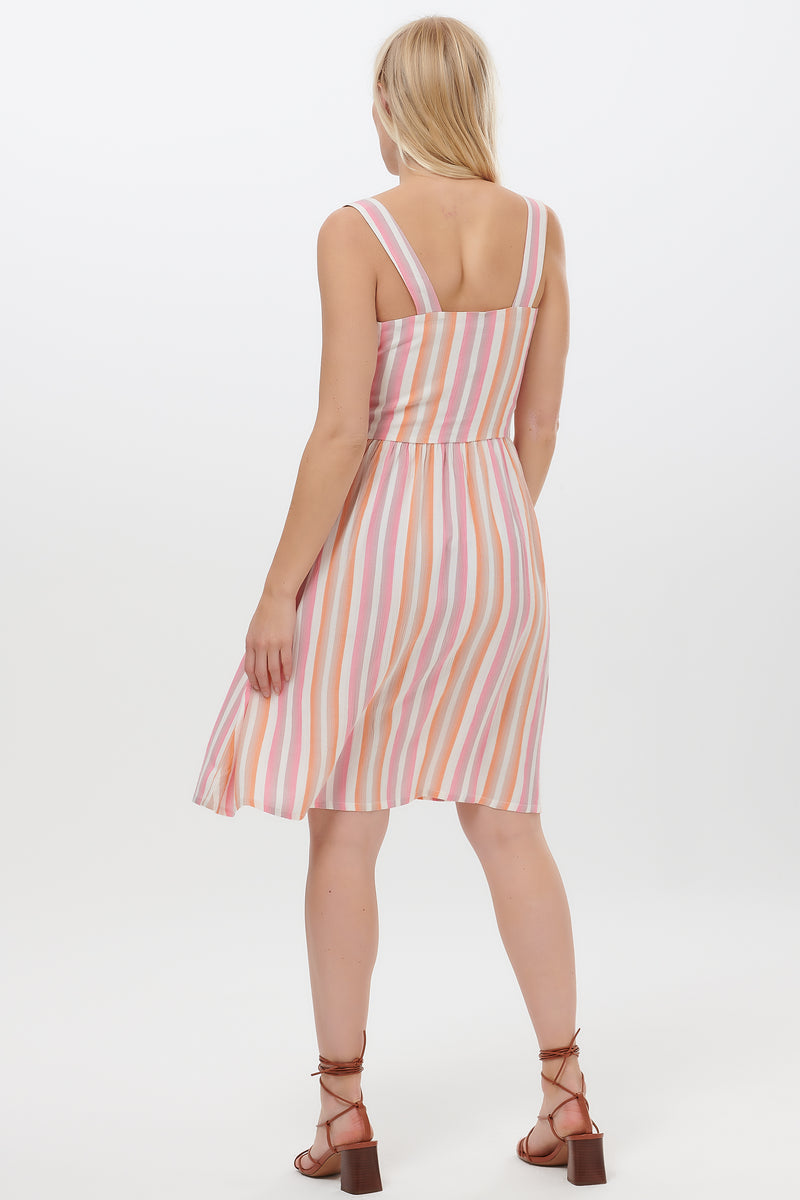 Queenie Ombre Stripe Sundress