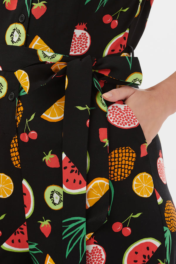 Pandora Fruit Punch Culotte Jumpsuit