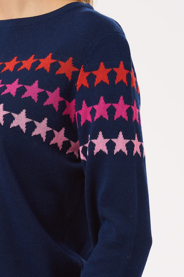 Rita Star Lines Sweater