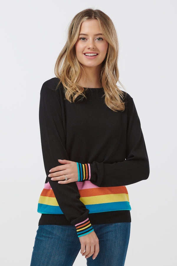 Rita Super Stripe Sweater