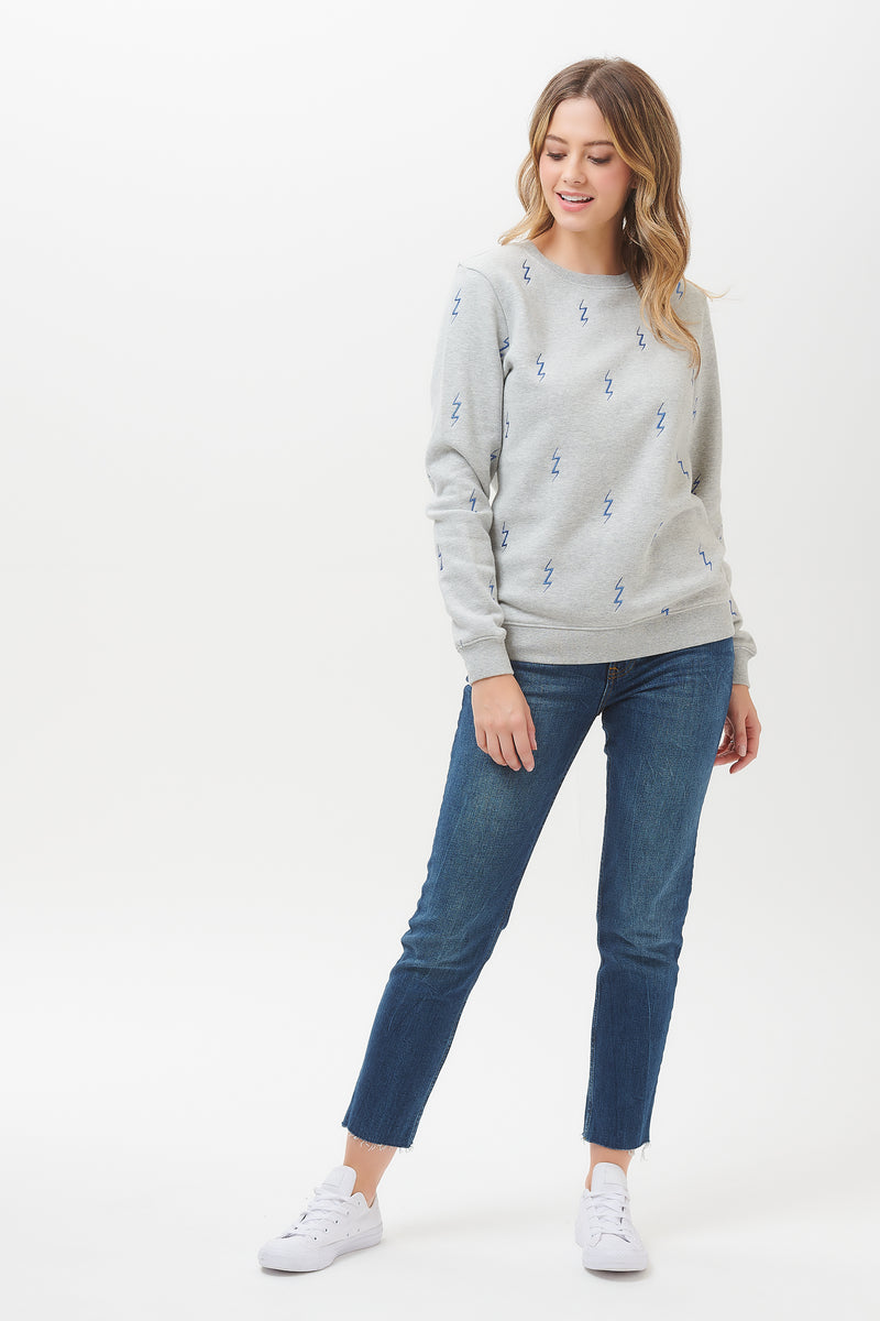 Alanis Lightning Bolt Sweatshirt
