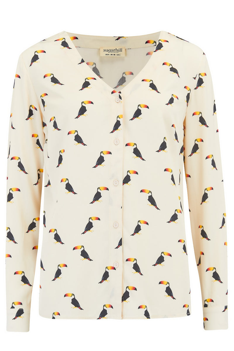 Arwen Rainbow Toucan Shirt