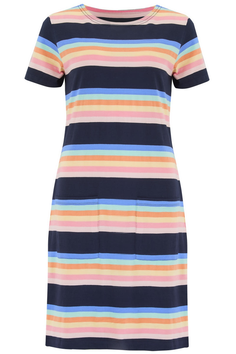 Ariane Surf Paradise Stripe Dress