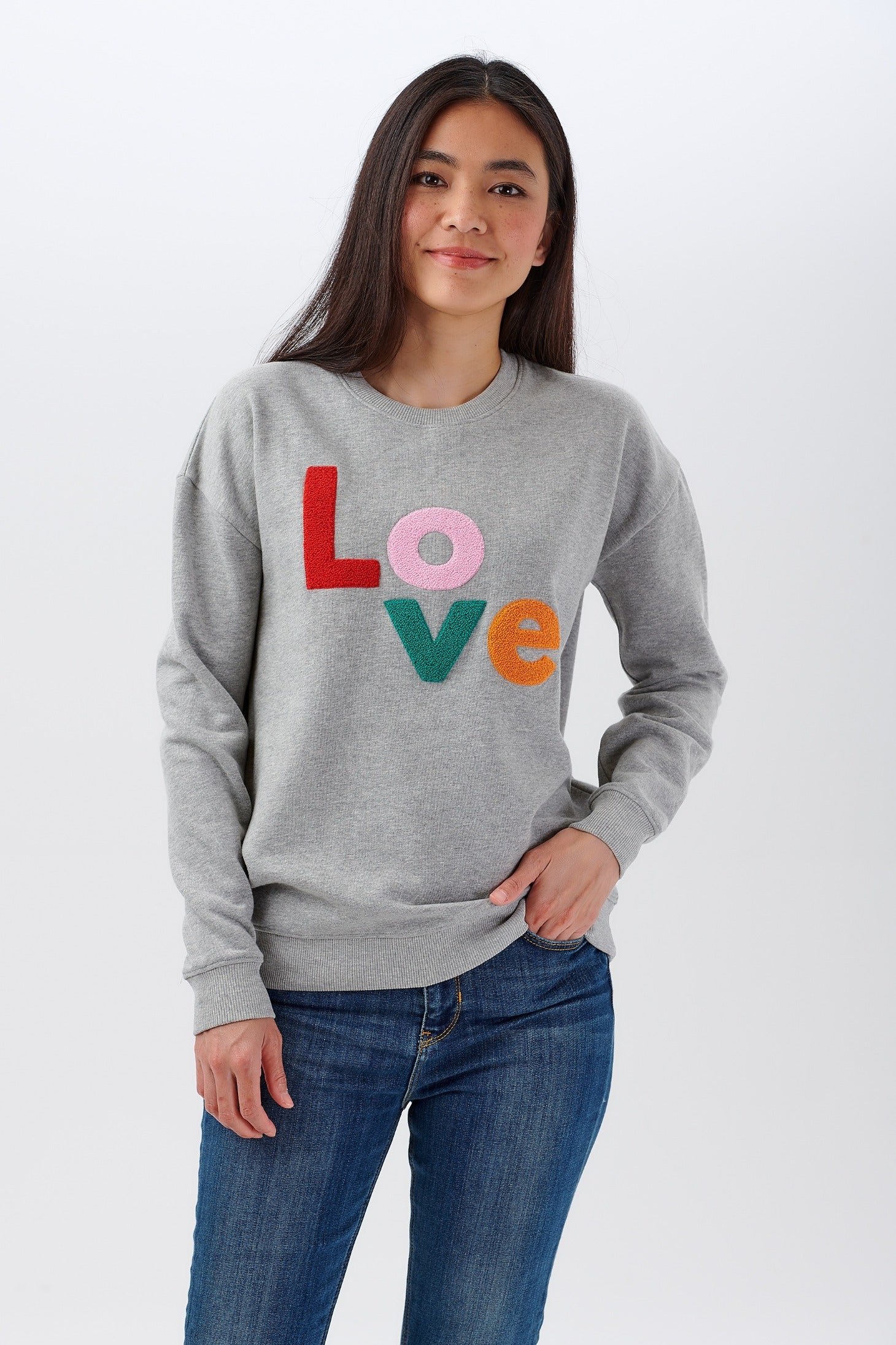 Clothing & Accessories Noah Colourful Love Sweatshirt #WearAndCare