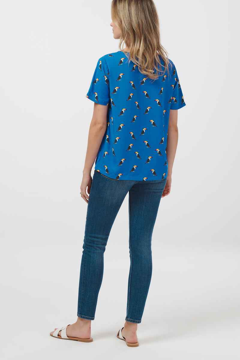 Tilda Rainbow Toucan Top