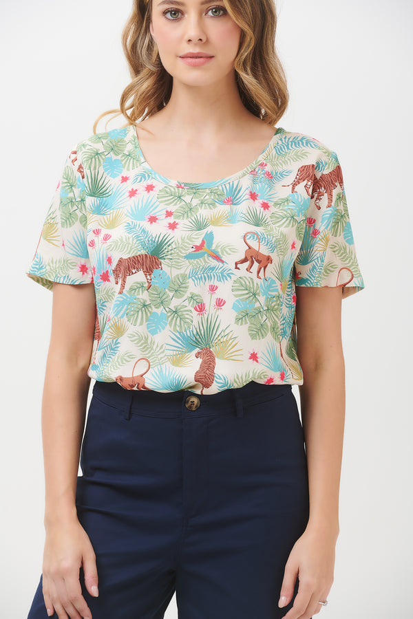 Tilda Daybreak Jungle Top #WearAndCare