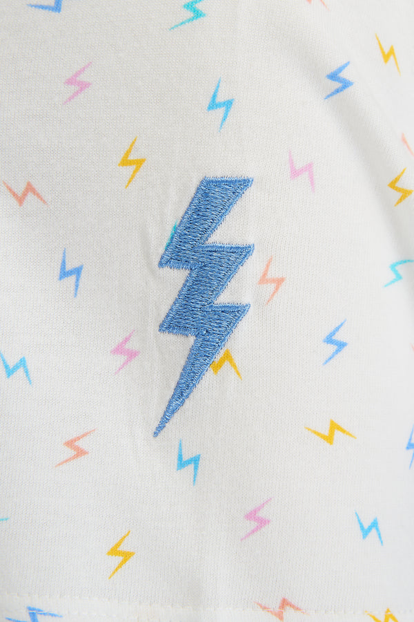 Maggie Mini Lightning T-Shirt #wearandcare