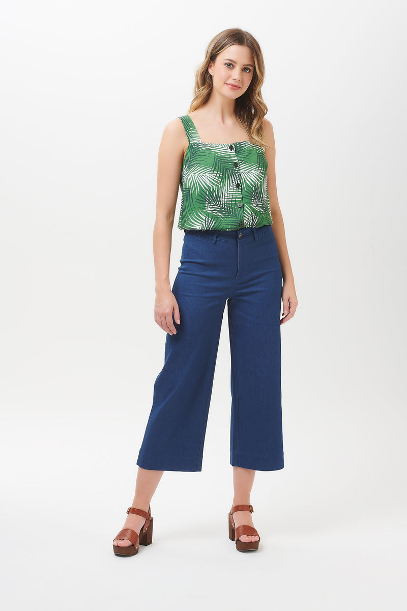 Marley Shady Palm Cami Top