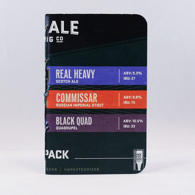 Real Ale Bomber 6-Pack Notebook