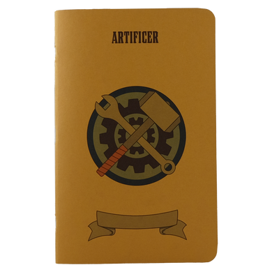 Artificer Notebook - Large (D&D 5E)