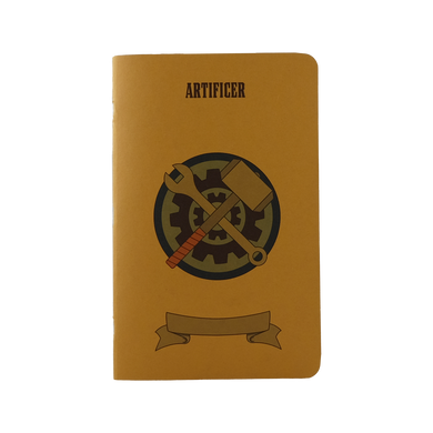Artificer Notebook - Small (D&D 5E)