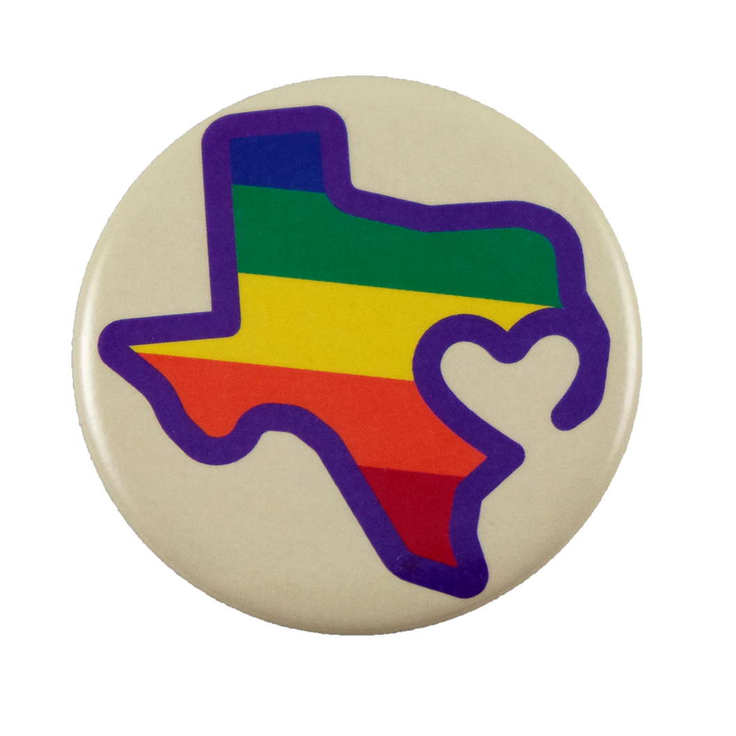 Texas is Love Button