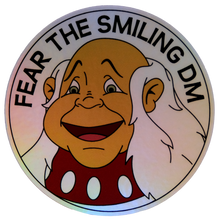 Load image into Gallery viewer, Fear the Smiling DM Holographic Sticker