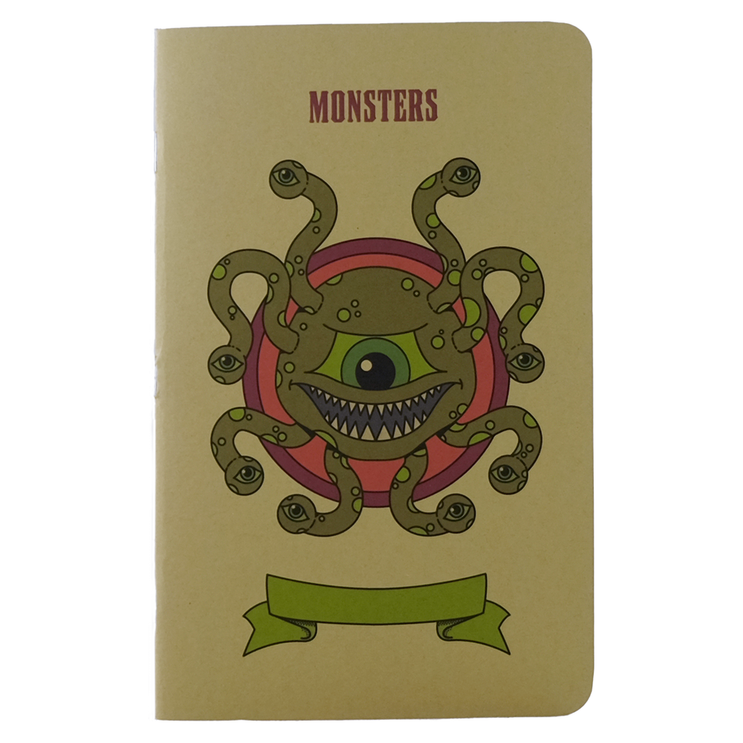 Monsters Notebook - Large (D&D 5E)