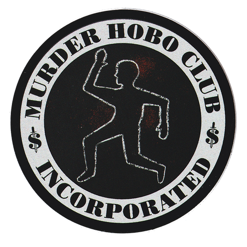 Murder Hobos Incorporated Sticker