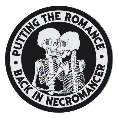 Necromancer Sticker