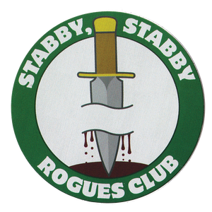 Stabby, Stabby Rogues Club Sticker