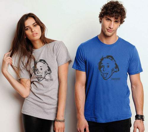 Albert Einstein Short-Sleeve Unisex T-Shirt