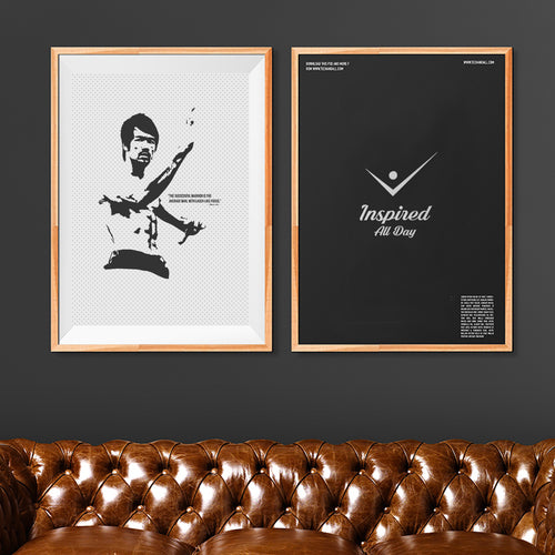 Bruce Lee Wall Paper Poster