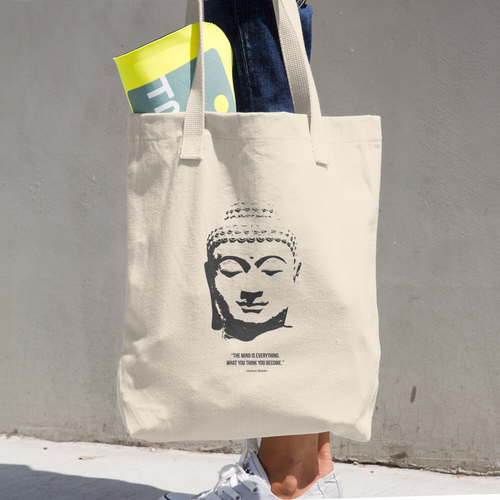 Gautama Buddha Cotton Tote Bag