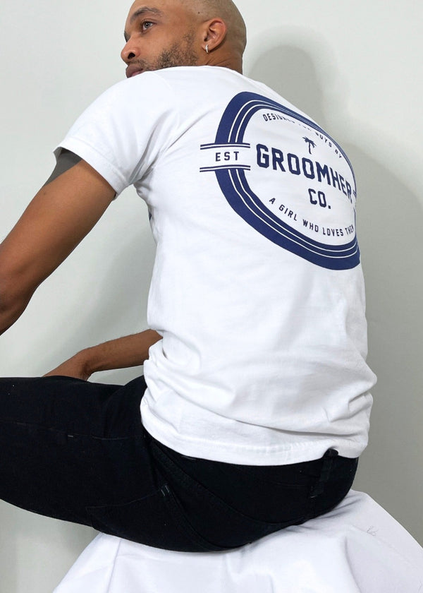 Essential Tee // Navy Crest