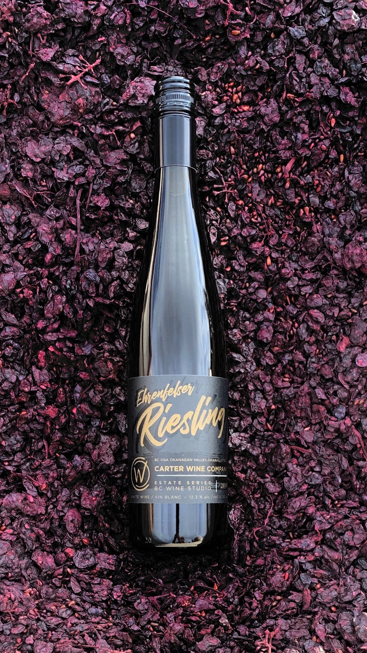 Carter Wine Company Estate Series Ehrenfelser Riesling 2018