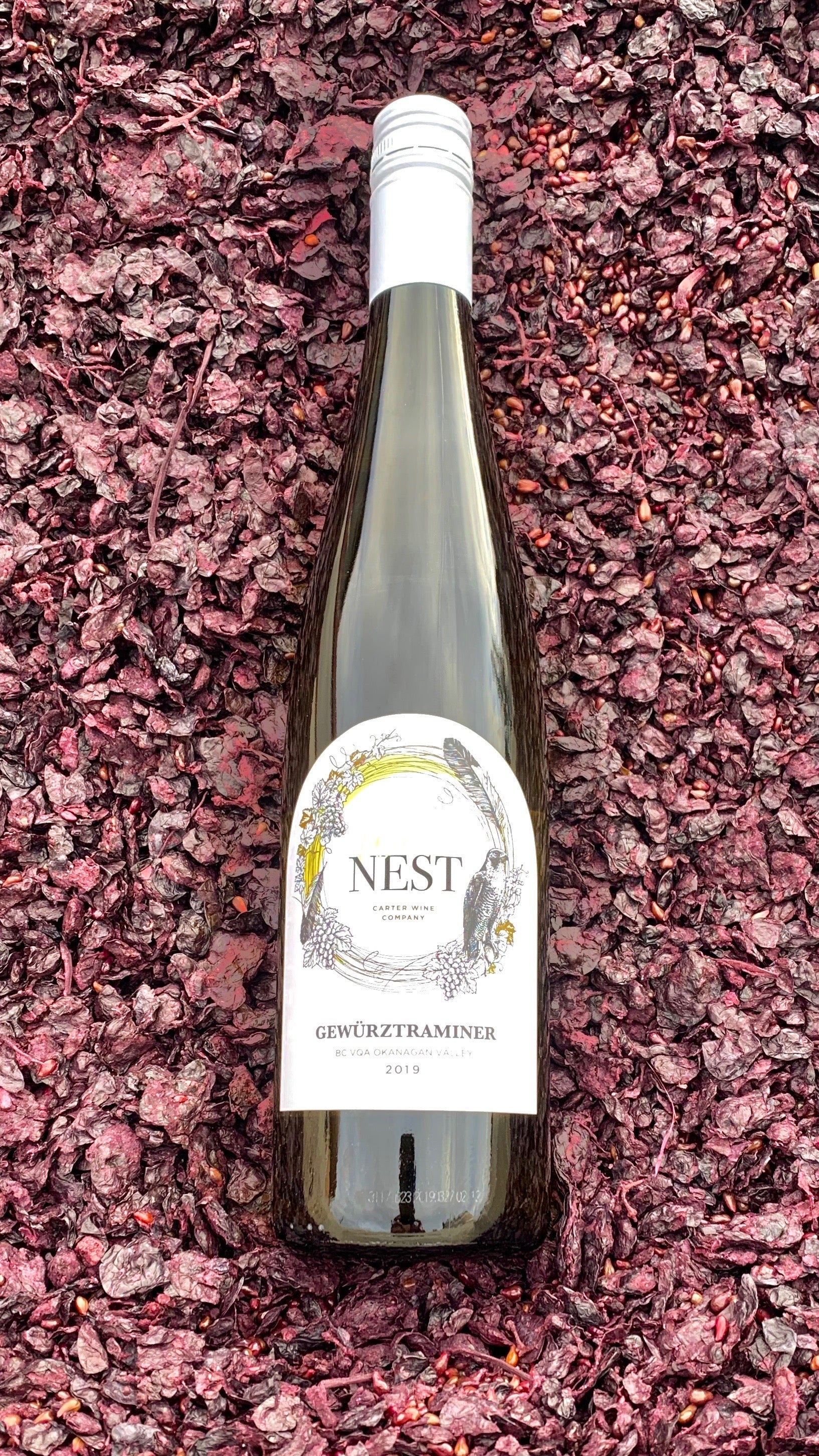 Carter Wine Company Limited Release The Nest Series Gewurtztraminer 2019
