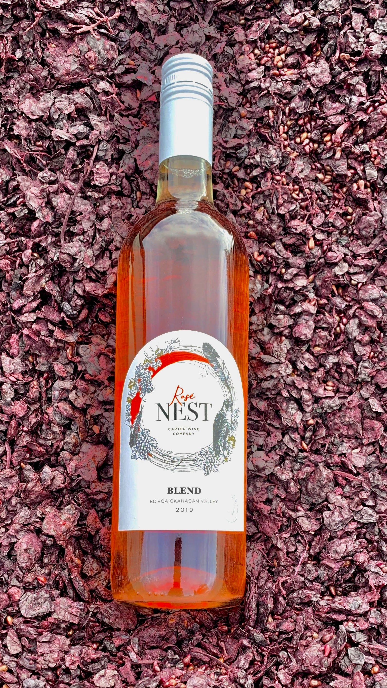 Carter Wine Company Limited Release The Nest Series Rose Blend 2019