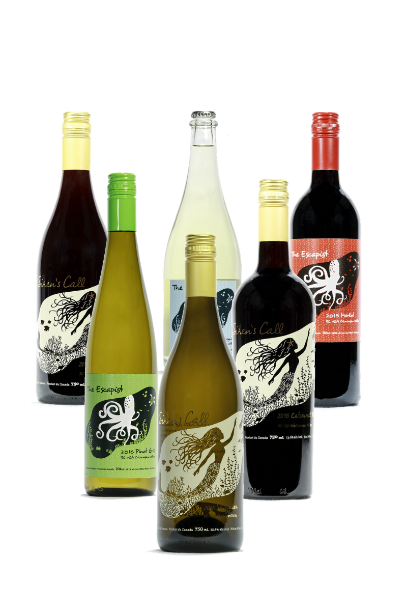 Siren's Call and The Escapist Wine Club Six Pack