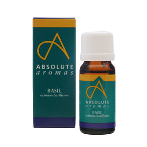 Absolute Aromas Basil Essential Oil 0.33 Fl. Oz.